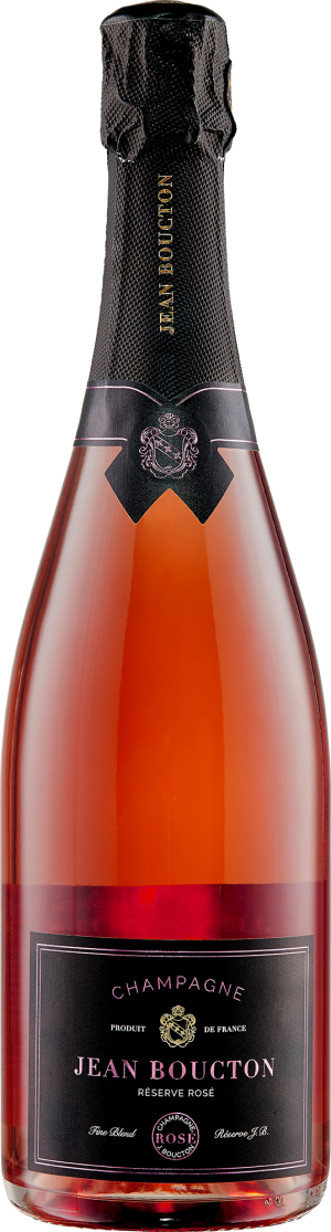 CHAMPAGNE JEAN BOUCTON - RESERVE ROSE (Bottle)