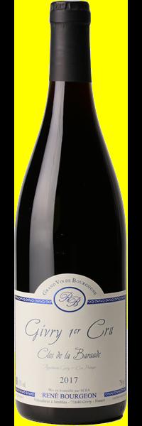 RED WINE - RENE BOURGEON «Clos de la Baraude» 2018 (Bottle)
