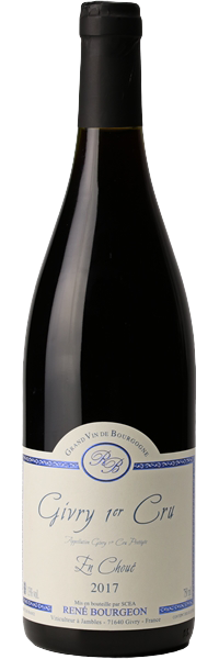 RED WINE - RENE BOURGEON - Givry 1er CRU «En Choué» 2018 (Bottle)