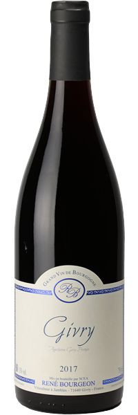 RED WINE - RENE BOURGEON - Givry 2018 (Bottle)