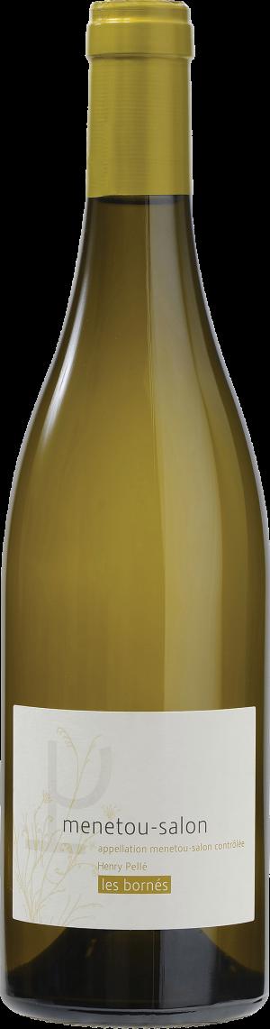 WHITE WINE - DOMAINE HENRI PELLÉ - MENETOU SALON LES BORNÉS (2017) -  (Bottle)