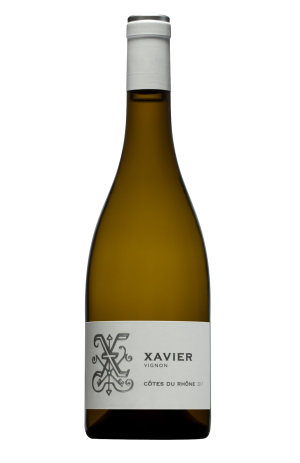 WHITE WINE - XAVIER VINS - CÔTES DU RHÔNES (2017)  - (Bottle)